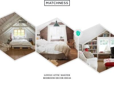 24. attic master bedroom