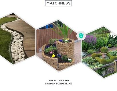 25. diy garden borderline