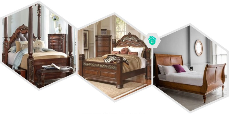 30. wooden king size bed