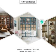 32. create a stylish bookcase