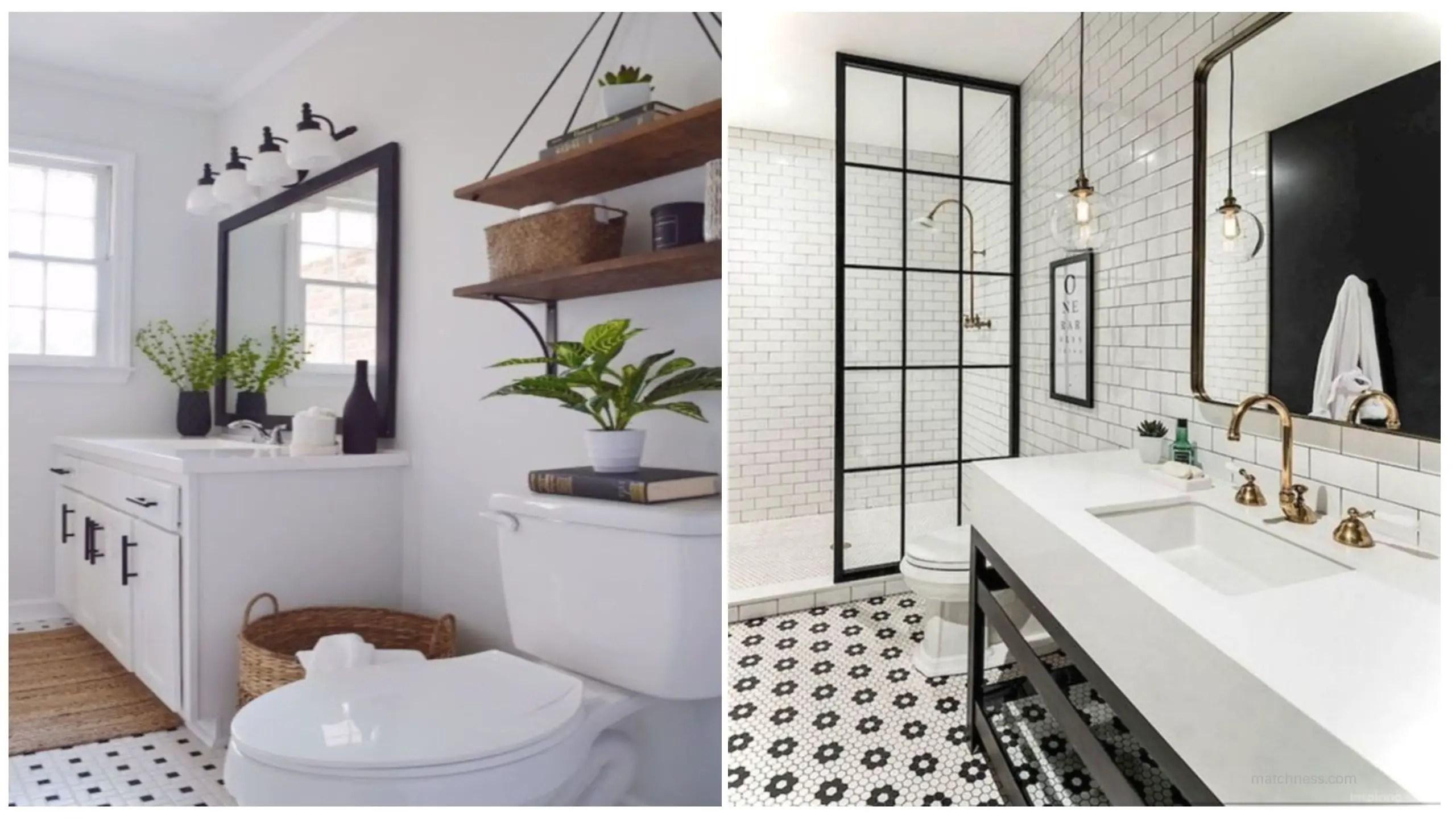 bathroom remodel ideas modern. Beautiful And Modern Farmhouse Bathroom Design Ideas Remodel R