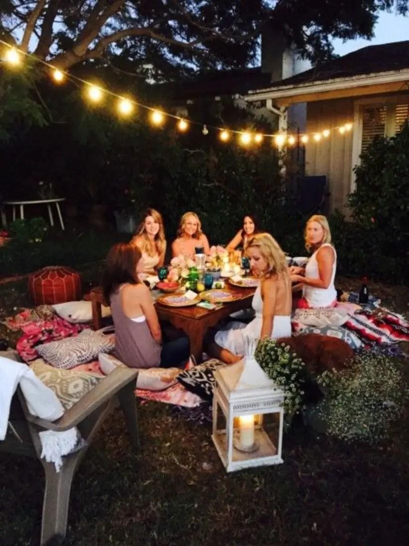 Bohemian garden party ideas