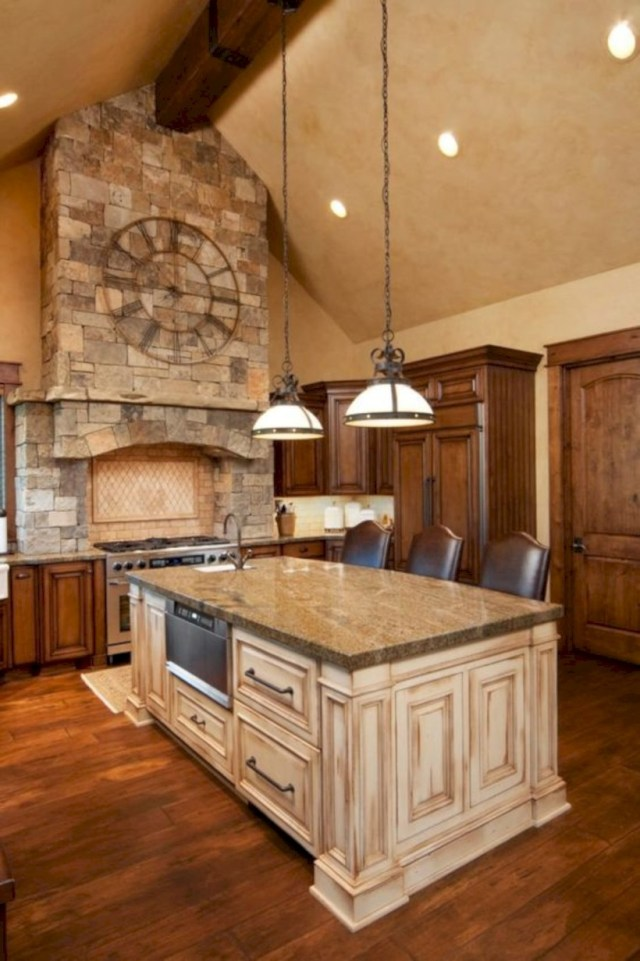 Custom luxury kitchen island