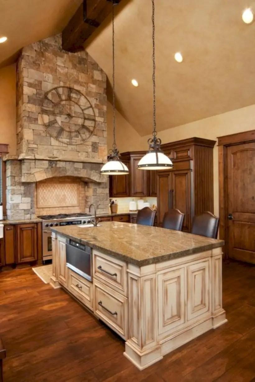 Custom luxury kitchen island