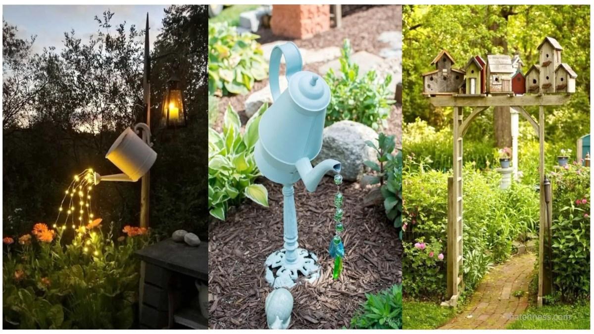 15 DIY Lovely Garden Decor Ideas You Will Love