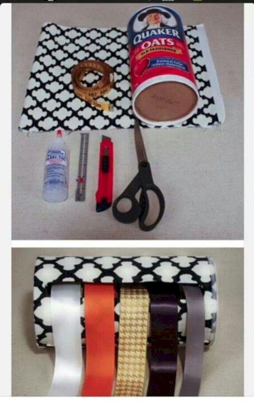Diy ribbon holder