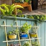 Easy diy trellis & vertical garden structures