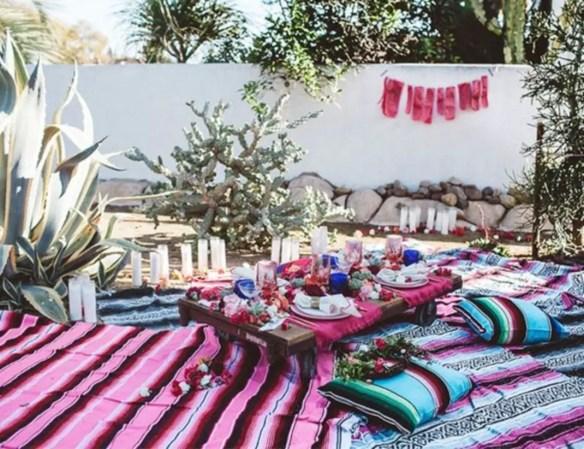 End of summer bohemian backyard party