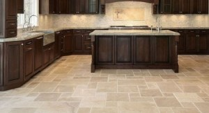 Finest kitchen tile floor with adorable interior impressions