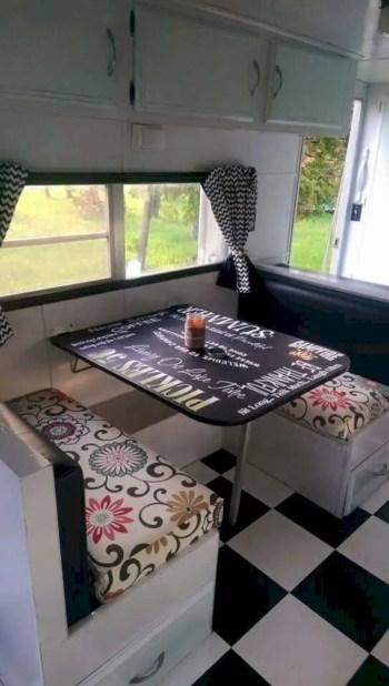 Interior design ideas for camper van