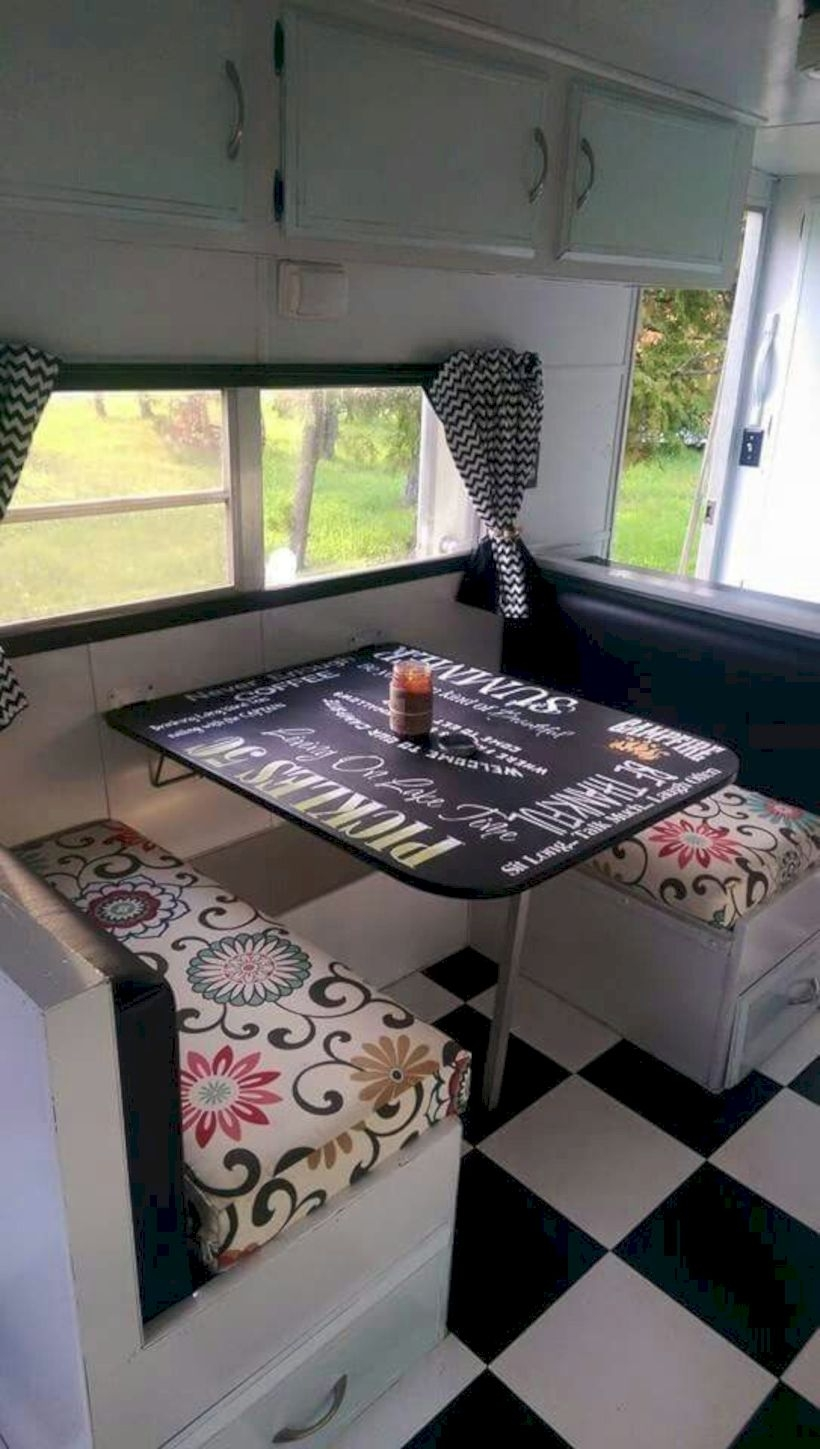 Interior design ideas for camper van