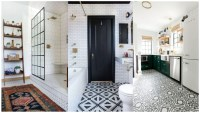 Lovely tile floor for your bathroom and kitchen