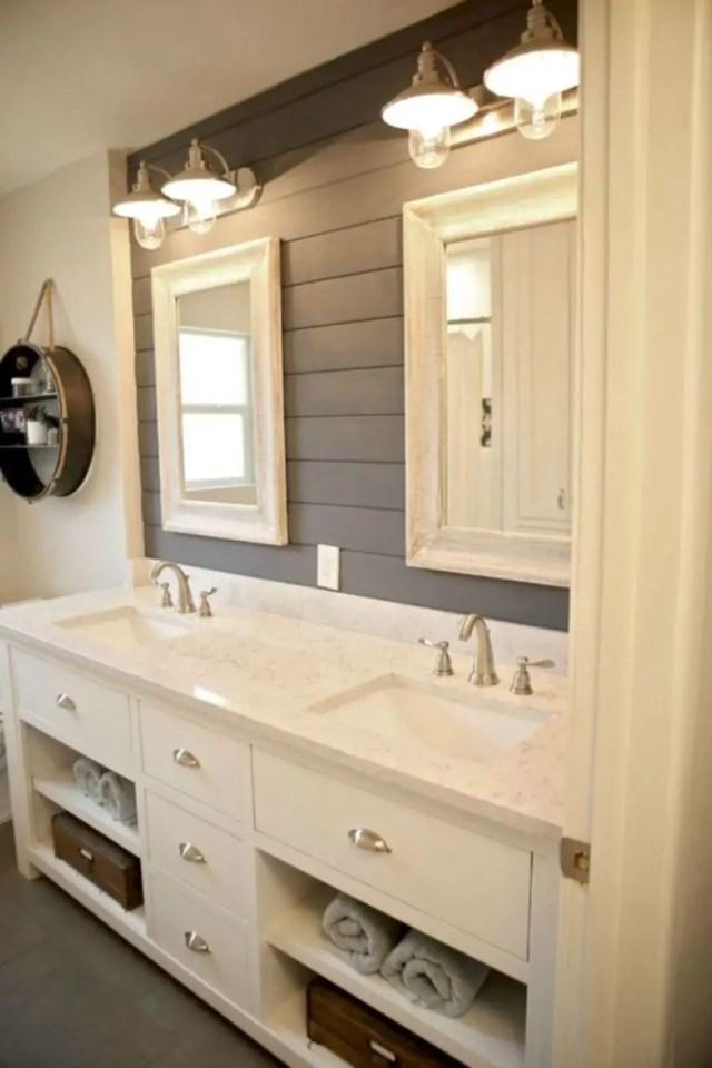 17 Beautiful And Modern Farmhouse Bathroom Design Ideas
