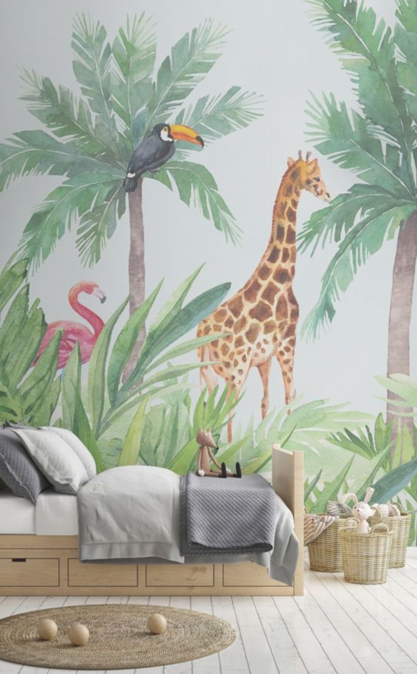 Nursery wallpaper for kids