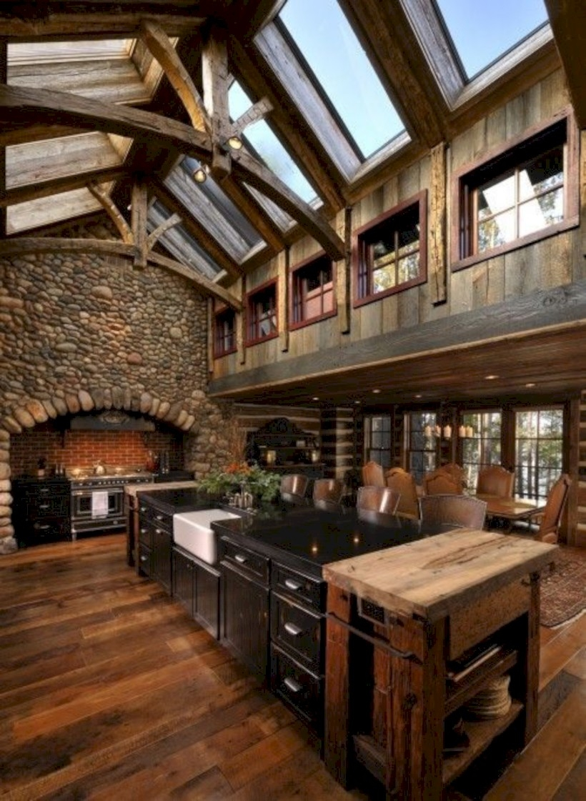 Rustic kitchen room style
