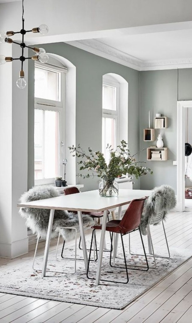 Scandinavian design with get to know this all white design project