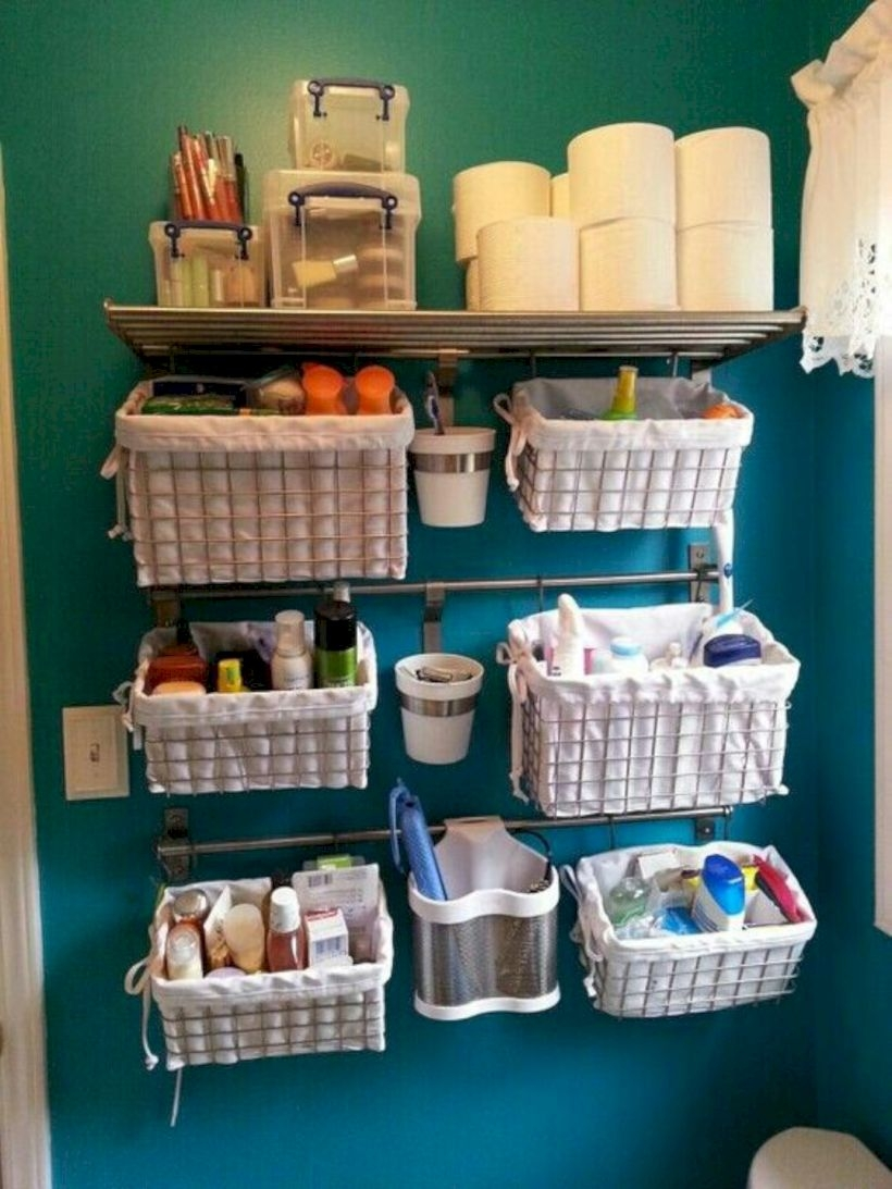 Space saving solutions from bathroom
