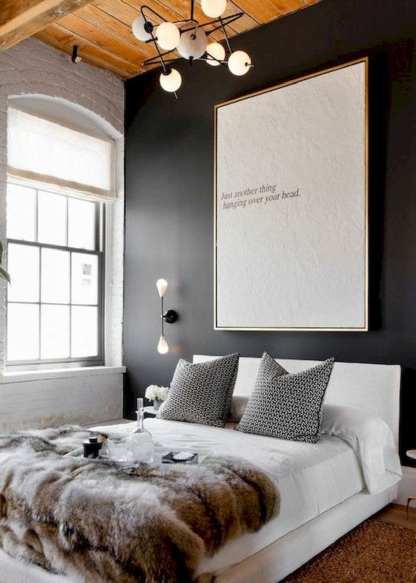 Stylish scandinavian bedroom decor ideas