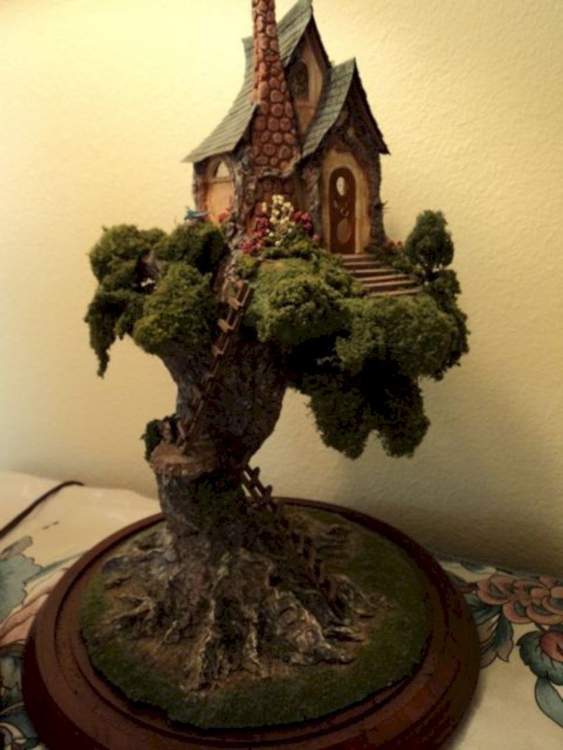 Tree fairy house ideas