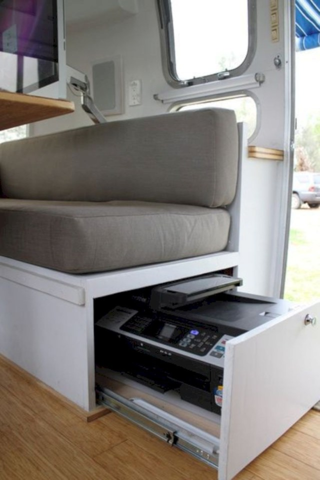 Storage ideas for working in rv