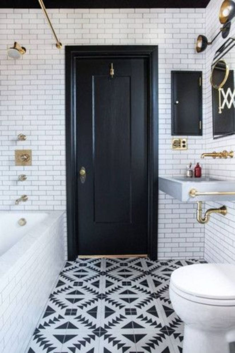 Tile floors to pin if you're remodeling bathroom