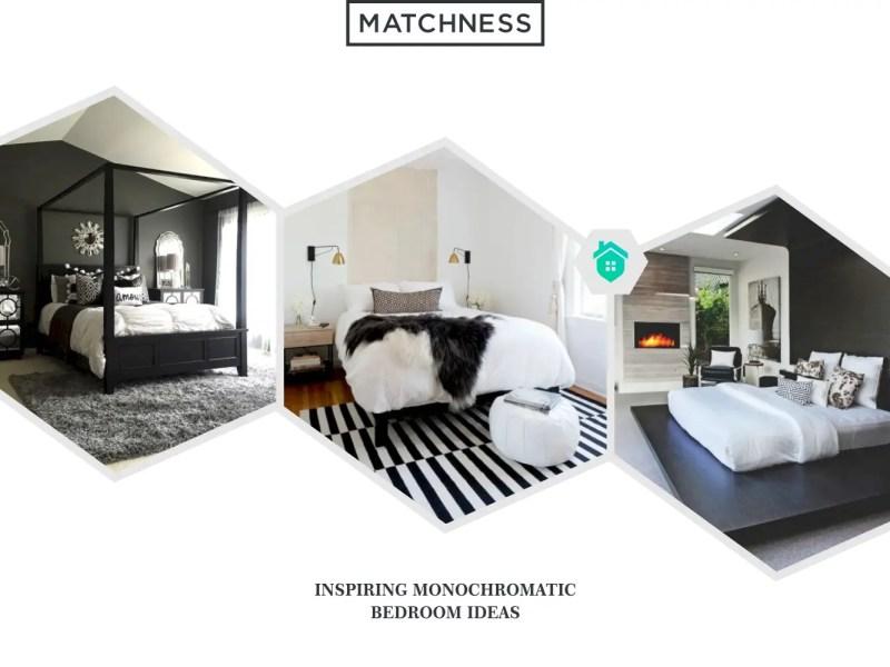 38. monochromatic bedroom ideas