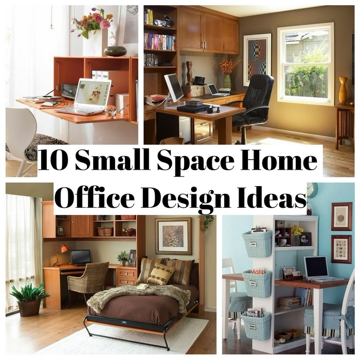 10 Small Space Home Office Design Ideas - Matchness.com