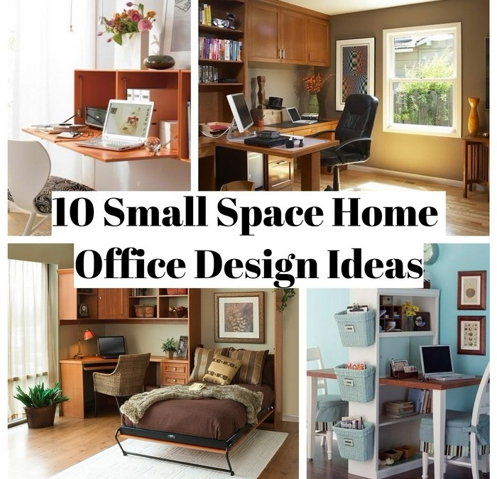 10 Creative Examples For Dividing Small Spaces: 10 Small Space Home Office Design Ideas
