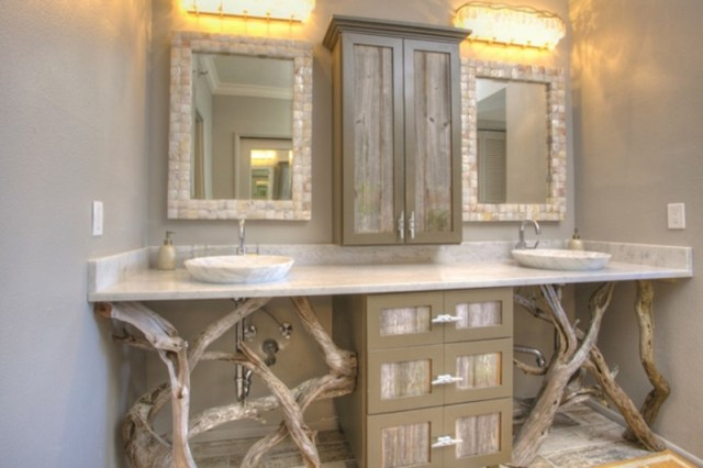 Rustic bathroom vanities 1