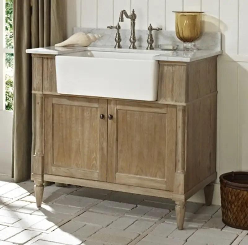 Rustic bathroom vanities 12