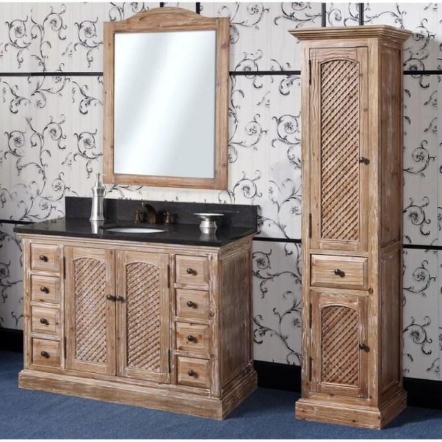 Rustic bathroom vanities 4