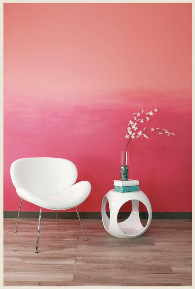 Try Accent Ombre Wall