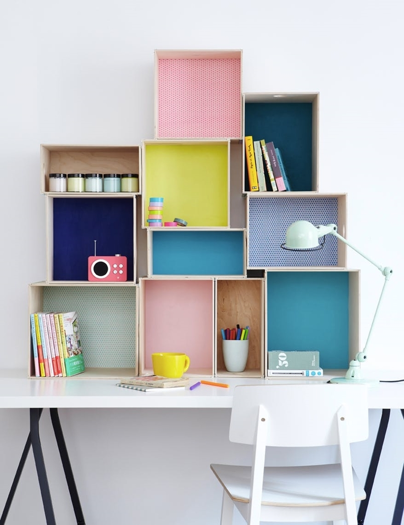 Colorful home office design ideas to brighten up your mood 2