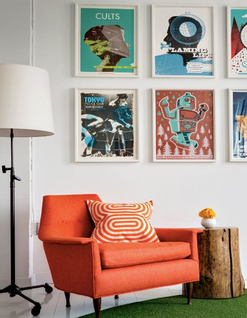 Colorful home office design ideas to brighten up your mood 4