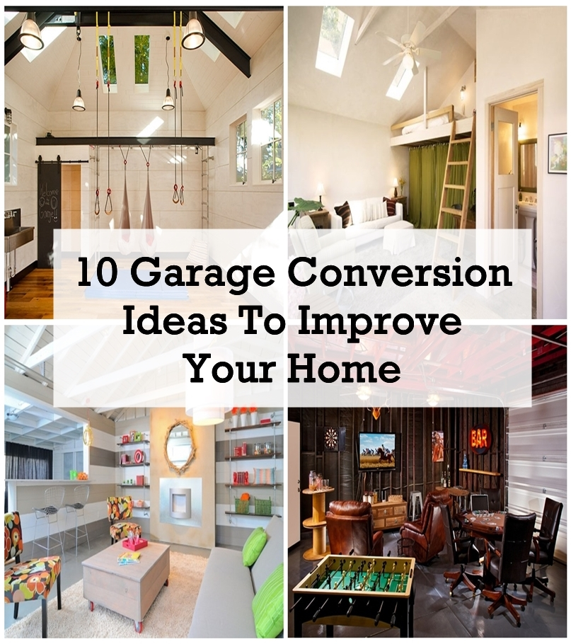 If You Already Have An Outdoor Parking Spot, Converting A Garage Into A  Room Is A Great Idea As It Adds Add Value To Your Property As Well As  Additional ...