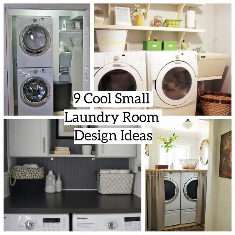 9 Cool Small Laundry Room Design Ideas - Matchness.com