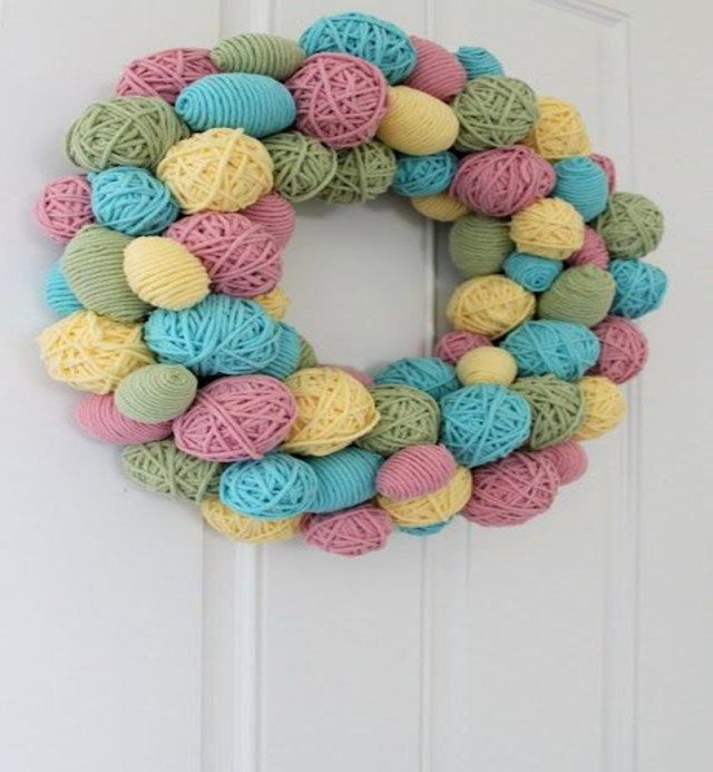 Easter wreath 8