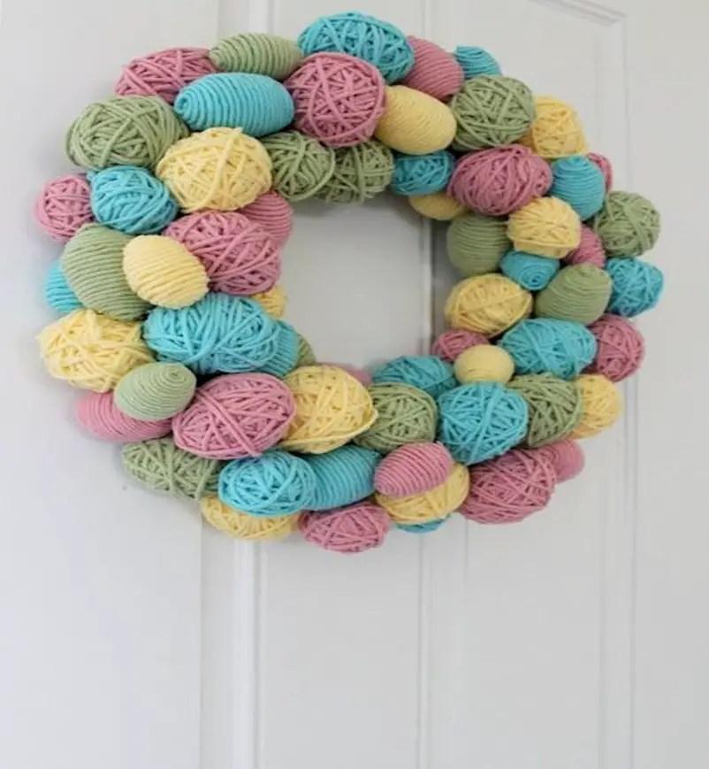 Easter wreath 8