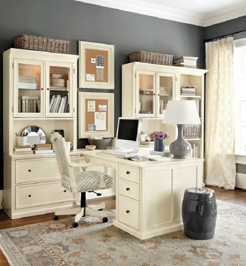 Soft home office design