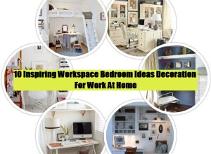 Workspace bedroom decoration ideas (1)