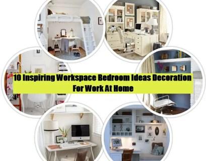 Workspace bedroom decoration ideas (1)
