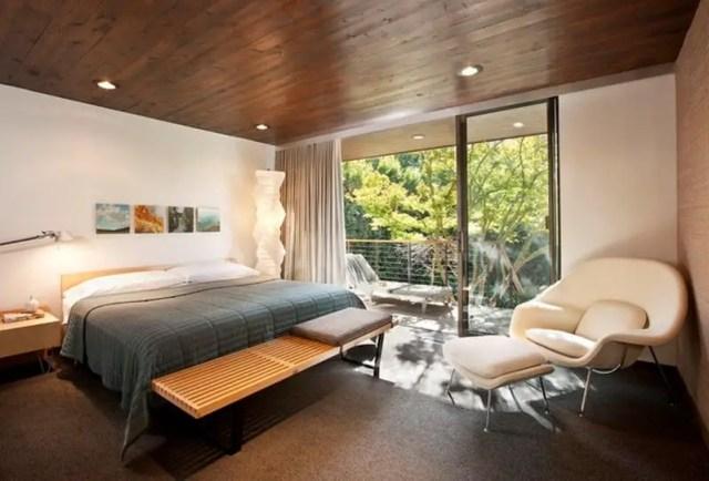 Mid century modern bedroom design ideas 10