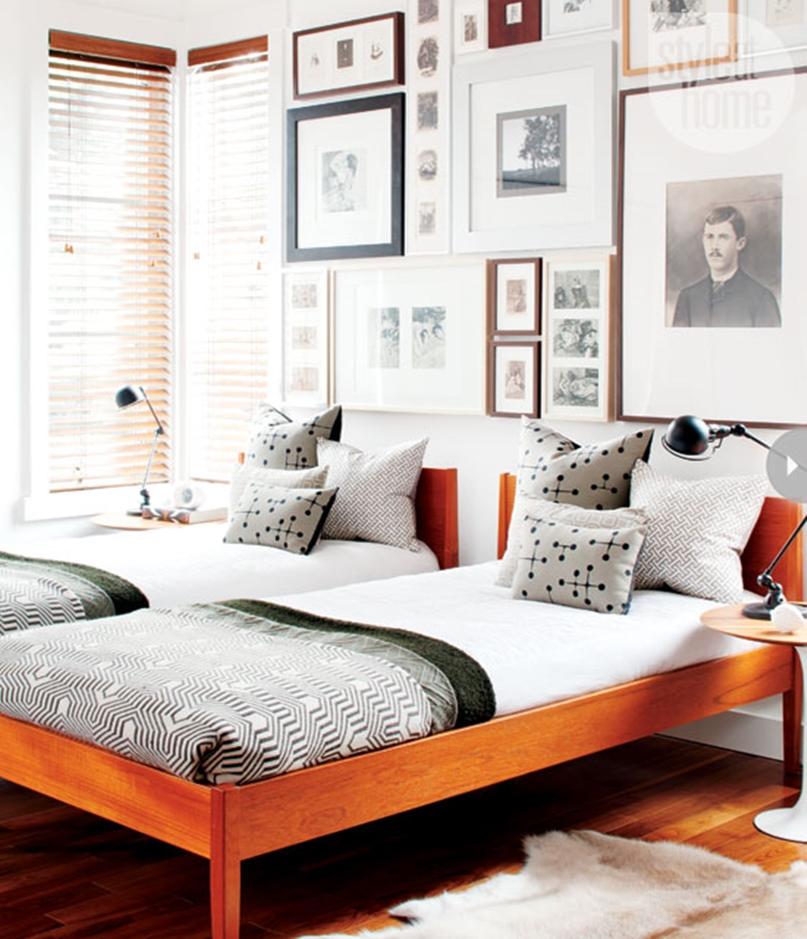 Mid century modern bedroom design ideas 11