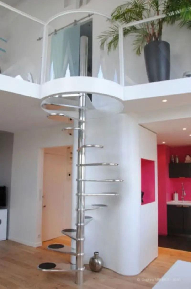 Retro-spiral-staircase