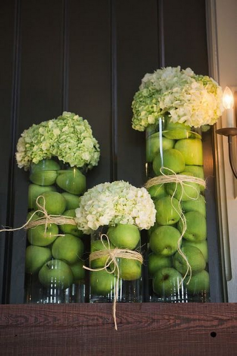 8. green apples