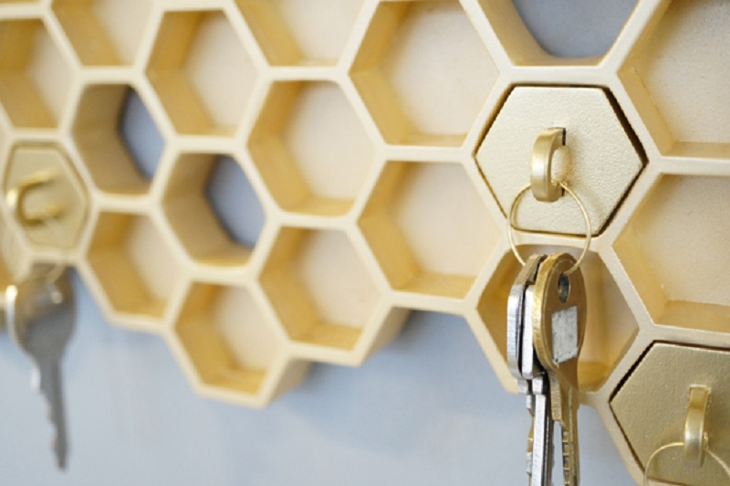 Honey key holder