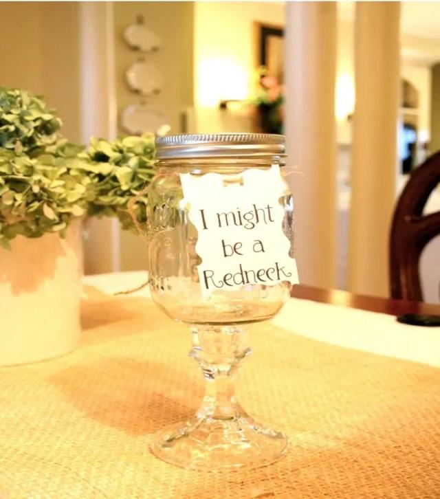Mason jar spring decoration 11
