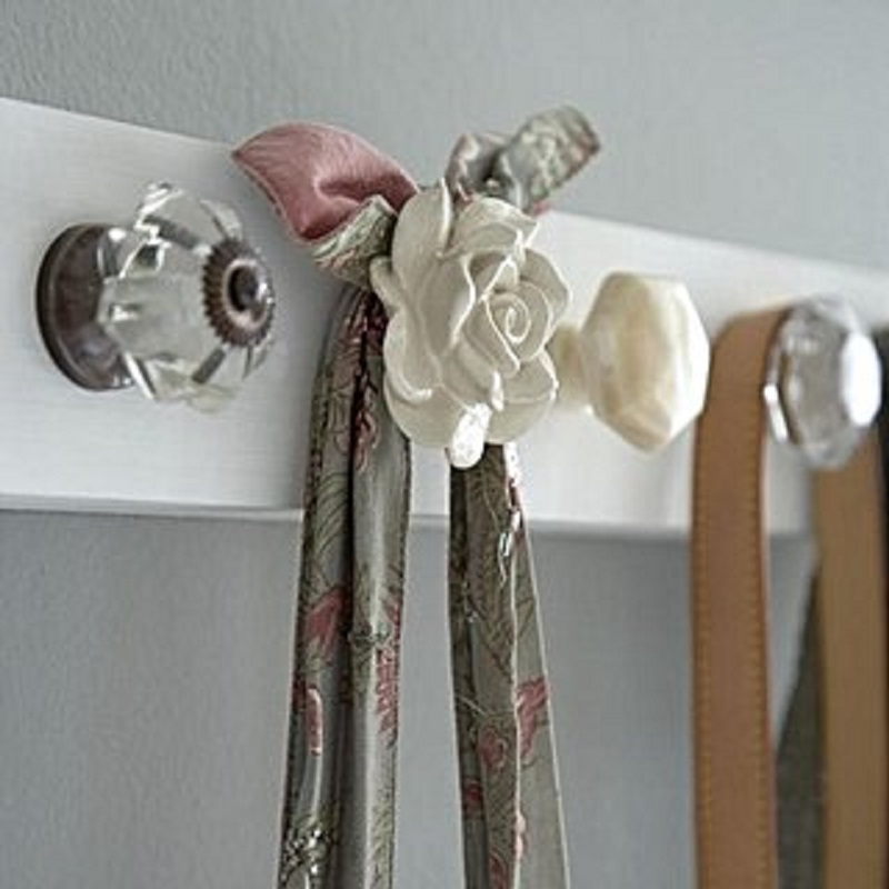 Pretty autumn coat rack