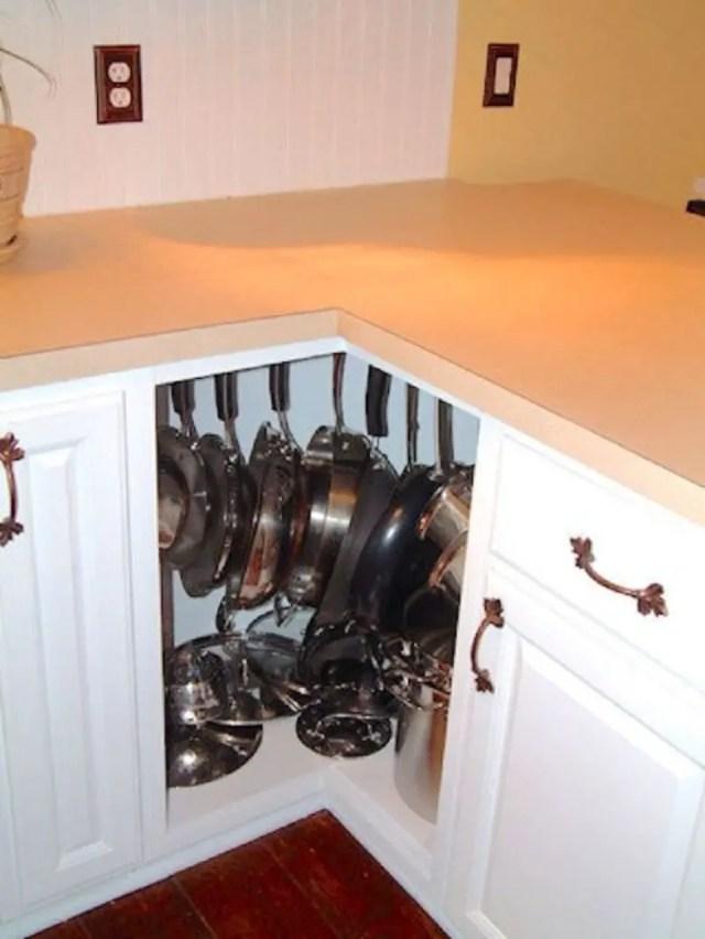 Reclaim corner cabinets