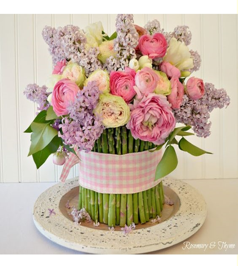 Spring floral arrangement 1
